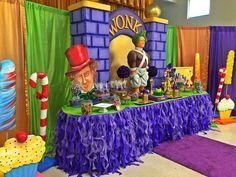 Willy Wonka Birthday Party Ideas | Photo 9 of 19