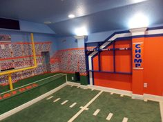Florida Gators Home Theater Designed By Build A Room