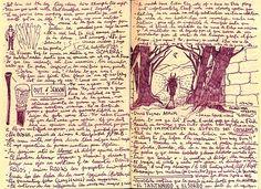 Guillermodeltorosketches: Guillermo Del Toro sketches