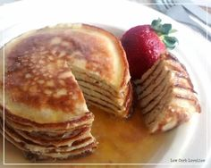 (2) Cinnamon Ricotta Hot Cakes - by Low Carb Lovelies