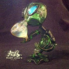 Alien glass pipe alien bowel glass art glass alien facebook