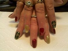 Nails by Chanda at Intrigue Salon Menominee, MI (906) 424-4238 www.intrigueme.org