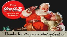 Before Hadoon Sundbloom's infamous Christmas Coke ad appeared in 1931, Santa Claus has previously be... - Coca-Cola Company