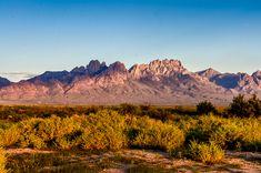 Organ Mountains at Las Cruces, NM