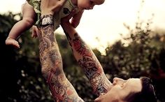 tattoos and babies