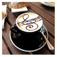 Kawka + muzyka = najlepszy zestaw z rana :)