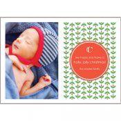 Mod Holly Christmas Photo Cards   #whhostess