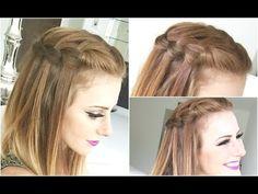 3 Penteados fáceis de fazer para Cabelos Curtos - Leve Beleza - YouTube