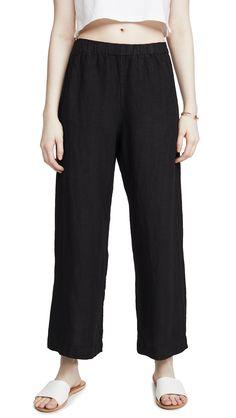 Velvet Lola Pants In Black Velvet Fashion, Linen Pants, Warm Weather, Black Pants, Spring Summer Fashion, Harem Pants, Feminine, Model, Clothes