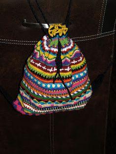 Free crochet pattern for backpack