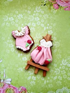 Girl cookies by Di art
