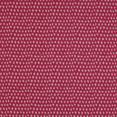 Victor cotton in cerise - upholstery weight fabric from Manuel Canovas