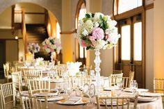 Gorgeous centerpiece by Tami Winn Events. Photo by Tracy Autem Photography. #wedding #centerpiece #weddingflowers #decor