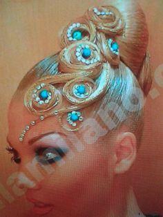 Ballroom Hair- lellamilano.com                                                                                                                                                     More