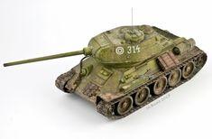 Marian Bunc modelling: T-34/85 závod č.112