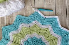 Soft Crochet Baby Blanket by Baby Beast, $35.00 USD