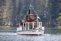 MS Rudolf - Schifffahrt Grundlsee, Seehotel Grundlsee Boat, Dinghy, Boats, Ship