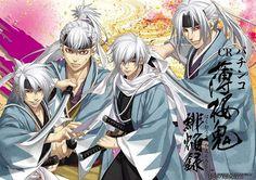 Oni!Souji, Heisuke, Hajime & Hijikata
