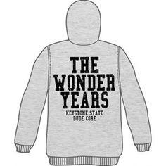 Wonder Years Men's WNDR (Grey) Zippered Hooded Sweatshirt Grey - http://bandshirts.org/product/wonder-years-mens-wndr-grey-zippered-hooded-sweatshirt-grey/