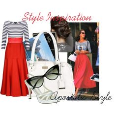 """Retro Style Inspiration Apostolic Style"" by emmyholloway on Polyvore @Amanda Snelson Snelson Holmes @Ashley Walters Driscoll"