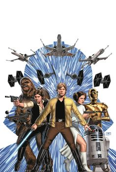 Star Wars - http://www.newsarama.com/21721-sdcc-2014-marvel-announces-3-star-wars-ongoing-series.html