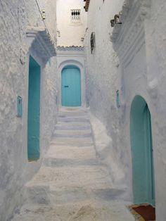 ♠ Ruelle blanche au Maroc ♠