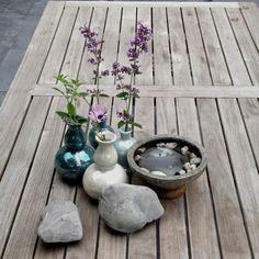 My garden table