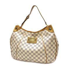 Louis Vuitton Galliera PM Damier Azur Shoulder bags White Canvas N55215
