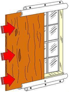 window slide panel | DIY Hurricane Window Protection - Plywood or Plastic…