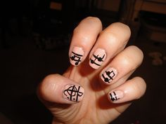 Tried to put my favorite things together...nail polish and music!