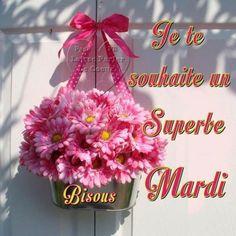 Bon Mardi, Joelle, Gifs, Illustrations, Happy Tuesday, Good Morning Images, Good Night, Days Of Week, Beautiful Day