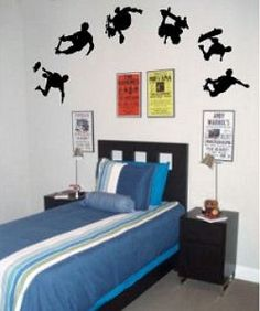 Skateboard Bedroom some uniqueness of skateboard bedroom decor for kids: exciting