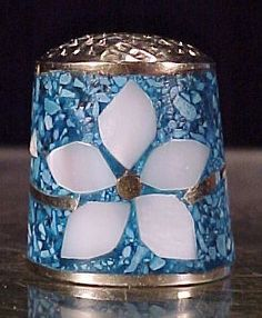 Mother of Pearl Thimble