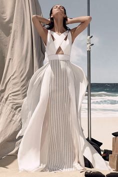 BCBGMaxAzria Does a Good Slit Skirt