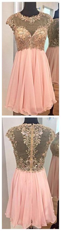 Short Prom Dress, Charming Prom Dre