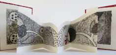 Have a look at some examples of my latest embroidery, prints and artists books, come on in for a better look.