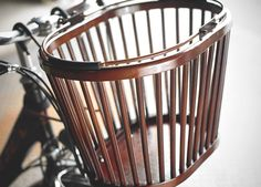 Eleven81 Bird Cage Wooden, $75 http://www.bicycling.com/bikes-gear/reviews/9-beautiful-bike-baskets/slide/7
