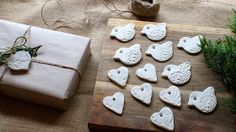 Frog, Goose and Bear: MY CREATIVE SPACE...clay decorations