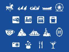 Magic Passport In-App Icons