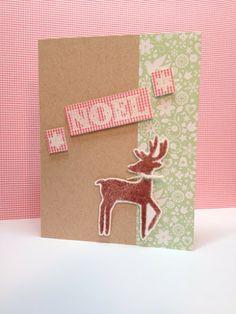Stamped and Delivered: Yuletide Design No. 7  Christmas Card #amusestudio #stampedanddelivered