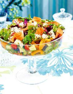 Marinoitu vuohenjuustosalaatti | Salaatit | Pirkka