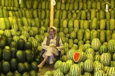 the melon seller of kabul,Turkey