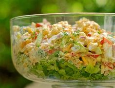 Who doesn't love a super crunchy, veggie-loaded salad with sharp, tangy cheese and creamy dressing? This boasts all of these qualities and is, hands down, one of my absolute favorite salads. What's more, this salad was created by me. It's unique. So when you make it, chances are, there won't be ten more at the …