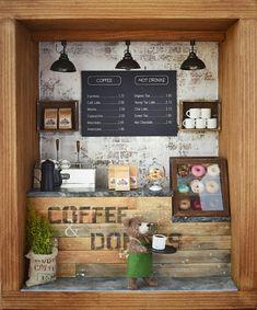 Japanese Coffee Shop, Small Coffee Shop, Bakery Interior, Cafe Interior Design, Cafe Bar, Cafe Shop, Mini Cafe, Bread Shop, Loft Furniture