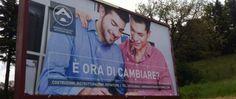 #Omofobia, il manifesto promozionale e sociale di una impresa edile vetrallese