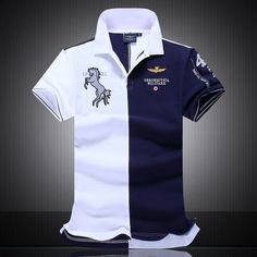 Best Quality Hot Sale New Arrival Brand Polo Aeronautica Militare Men Shirt Air Force One Camisas Masculinas Cotton Polo Men Shirts At Cheap Price, Online Men's Polos Camisa Polo, Camisa Slim, Mens Polo T Shirts, 3d T Shirts, Men's Polos, Shirt Men, Work Shirts, Air Force One Homme, Polo Bordado