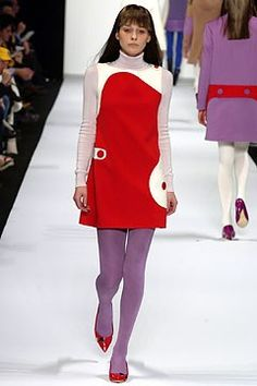 Marc Jacobs Fall 2003 Ready-to-Wear Fashion Show - Marc Jacobs, Dasha V.