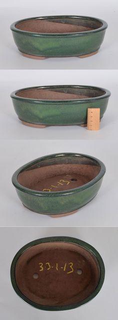 Pot de Yixing ovale émaillé N3-3-1-13