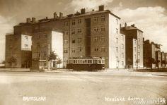 Mestské domy na Vajnorskej ceste (pri Starej Prachárni)