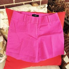 "Talbots pink shorts. Adorable petite shorts from Talbots. It has 2 back hidden button pockets and zip up closure. In amazing condition.5"" inseam Talbots Shorts Bermudas"